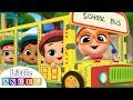 Wheels On The Bus At School Learning Arts And Crafts Kids Songs And Nursery Rhymes Little Angel