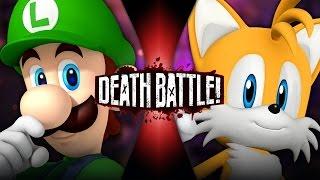 Luigi VS Tails   DEATH BATTLE!   ScrewAttack!