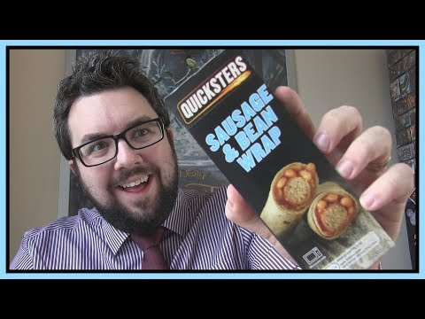 Aldi Quicksters Sausage & Bean Wrap Review