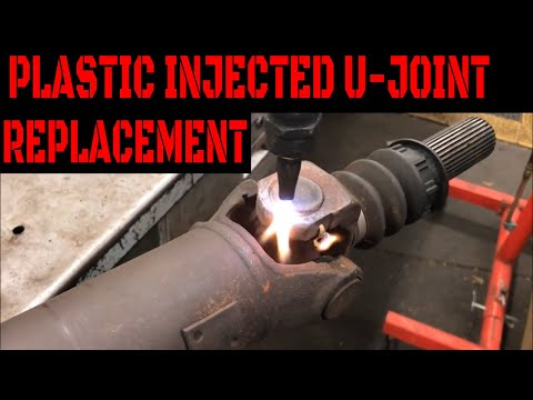 How To Replace Factory U-Joints With Plastic Injected Pins