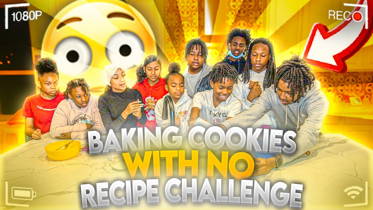 I CAN'T BELIEVE THEY DID THIS....MAKING COOKIES WITHOUT A RECIPE!!!!