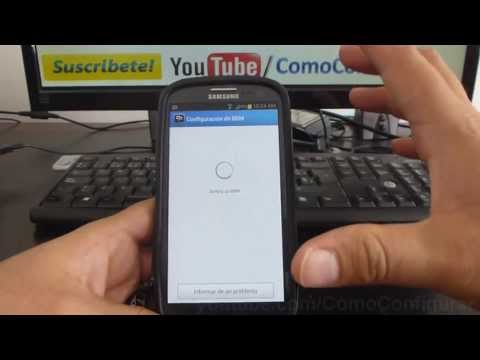 como instalar blackberry messenger en android Samsung Galaxy s3 i9300 español Full HD