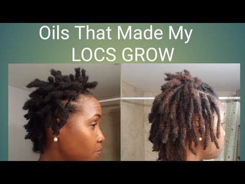 Oils That Made My LOCS GROW!! Part 1 (Peppermint)