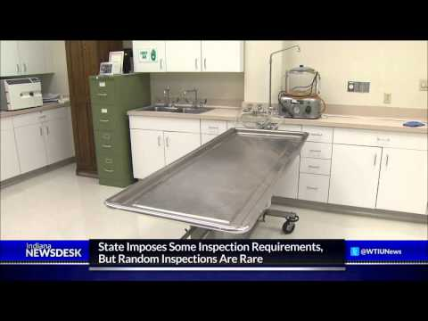 Indiana Funeral Home Inspections Are Infrequent
