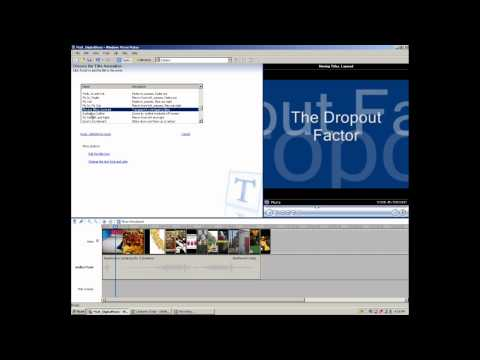 Windows Movie Maker Educast, Part 6: Adding Titles