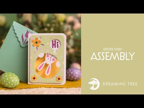 SVG File - Easter Card - Assembly Tutorial