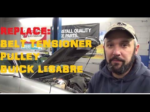 Seized Belt Tensioner Pulley - Buick LeSabre