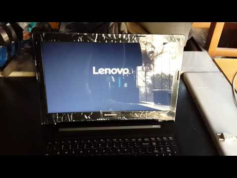 Lenovo G50-45 problem hanging issue while booting device