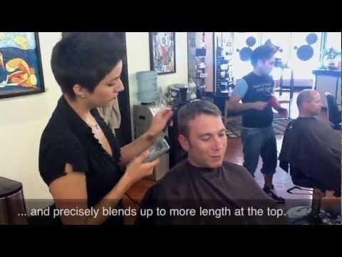 Chicago Male Salon - Mens Short Haircut Video