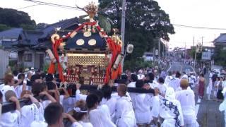 7月22日(木) 宮入前のもみあい@姉崎・椎津八坂神社夏季例大祭