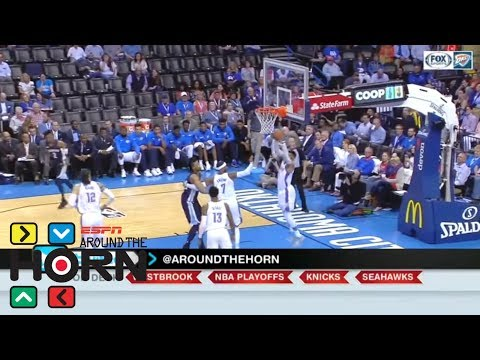 'Sure' Russell Westbrook is stat-padder, but that might not be bad thing | Around the Horn | ESPN