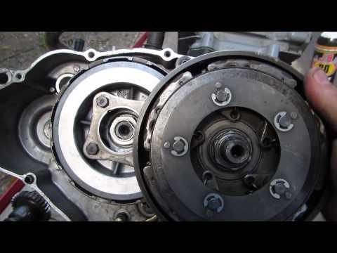 54% gear reduction install in 300 Honda video Dons camera 019