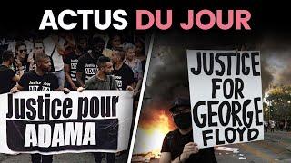 Manif pour Adama, Trump déploie l'armée, retour d'Ebola... Les actus du jour