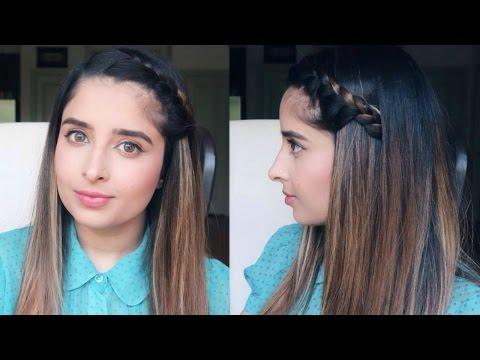 Easy French Side Braid Hair Tutorial