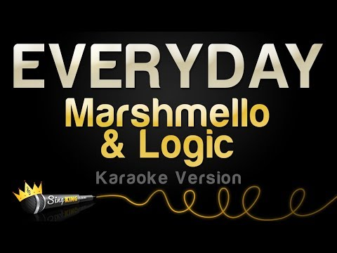 Marshmello & Logic - EVERYDAY (Karaoke Version)