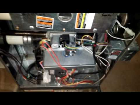 Winter filter change on the Carrier Infinity 58MVB Gas Furnace