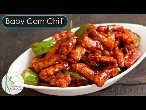 Crispy Baby Corn Chilli | Baby Corn Manchurian Recipe | Indo Chinese Recipe ~ The Terrace Kitchen
