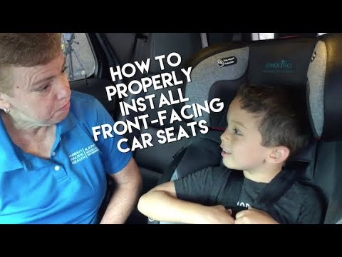 Forward-Facing Car Seat: Properly Installing the Seat in Your Car