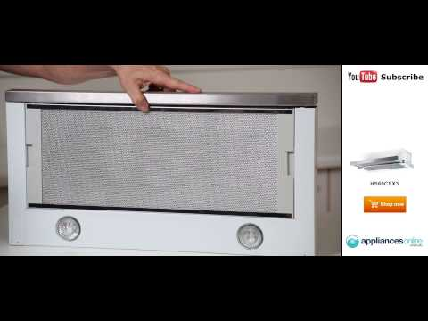 The HS60CSX3 Fisher & Paykel Retractable Rangehood reviewed by expert - Appliances Online