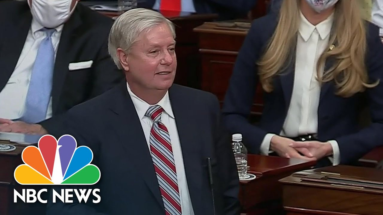 Graham Says Biden And Harris Are Lawfully Elected In Senate Speech | NBC News