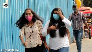 Loud Sneeze Prank On Cute Girls || Amazing Reactions With Bollywood Songs || Prank Shala
