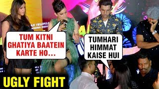 Kangana Ranaut Ugly Fight With A Journalist For Telling Lies | Wakhra Swag Launch