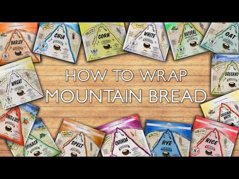 Mountain Bread™ - How To Wrap