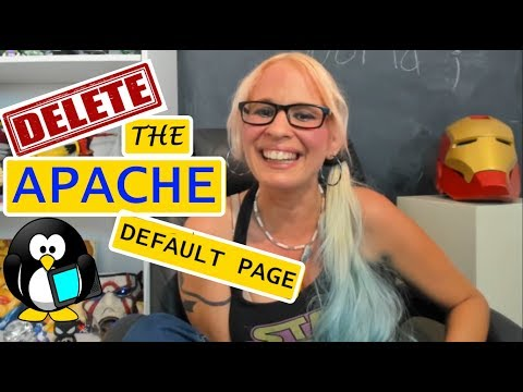 How to Delete the Apache Default Page