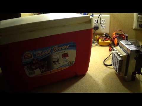 Homemade Peltier Cooler 2.0