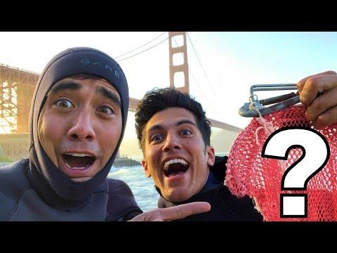 Found Treasure at the Golden Gate Bridge