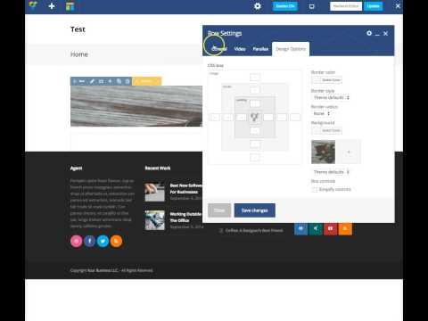 Adding Parallax Backgrounds In WordPress - Total WordPress Theme