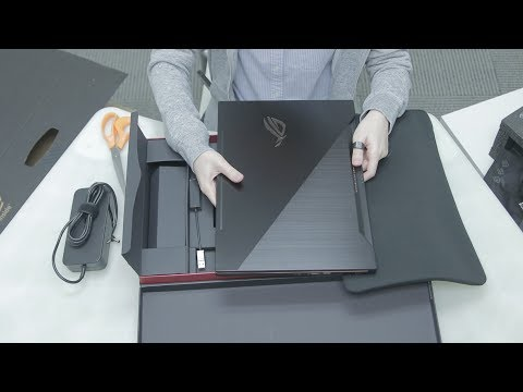 Unboxing the ASUS ROG Zephyrus ultra slim gaming notebook!