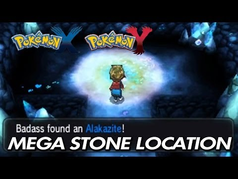 Pokemon X & Y - Where To Find Alakazite / Location