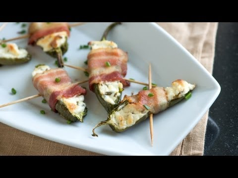Ridiculously Easy Bacon Wrapped Jalapeno Poppers Recipe - How to Make Jalapeno Poppers From Scratch