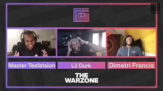 The Warzone Round-Up With Rapper Lil Durk And Gamer Minnesota ROKKR