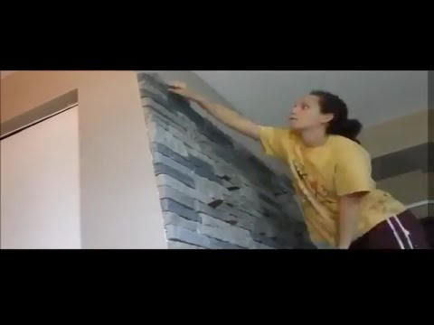 Airstone Wall - Lisa Rusczyk Vlogs 44