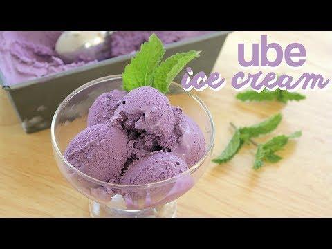 How to Make Ube Ice Cream (3 INGREDIENTS + National Ice Cream Day)