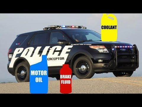 Motor Oil & Fluid Types for Ford Explorer Police Interceptor 3.7L V6 AWD