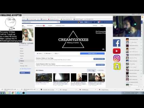 How to live stream games on Facebook Live! ( From PC ) 2016