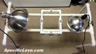 How to make a PVC Overhead Camera Mount Slider Stabilizer Rig