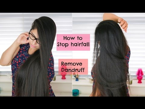 DIY | How To: Stop Hair Fall | Remove Dandruff And Oily Scalp