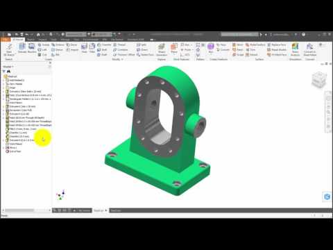 Inventor 2017 Part Enhancements