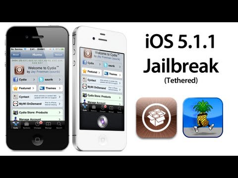 iOS 5.1.1 Jailbreak for iPhone 4, 3GS, iPod touch 3rd, 4th Gen, & iPad 1