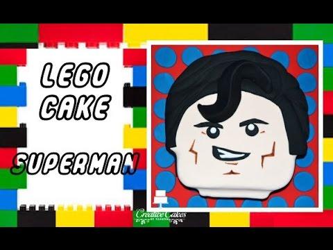 Lego Movie Cake - Superman (How to make)