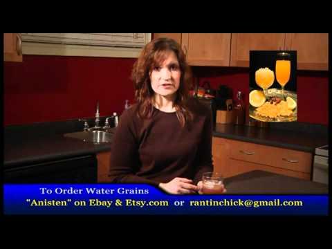 KEFIR MAKING The Benefits of Water Kefir