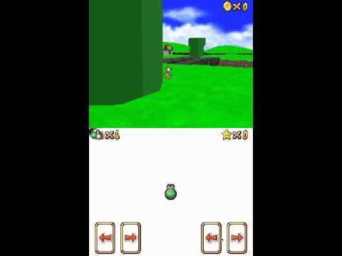 Mario 64 DS: First Custom Level