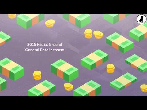 2018 FedEx Ground Standard List Rate Increase