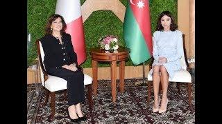 Mehriban Əliyeva İtaliya Senatının sədri Maria Elisabetta Alberti Kasellati ilə görüşüb