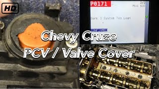 Chevy Cruze & Sonic 1 4L Turbo PCV Issues, Diagnosis, and