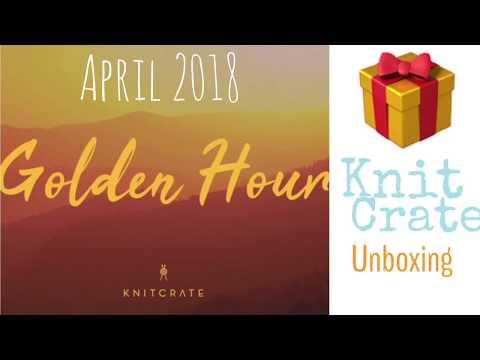 Unboxing KNITCRATE Membership April 2018 | TeoMakes